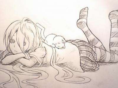ダル子とダル猫