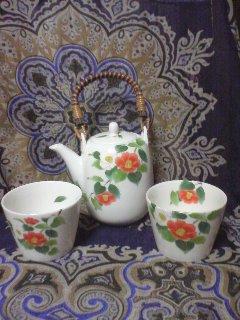 椿お茶セット