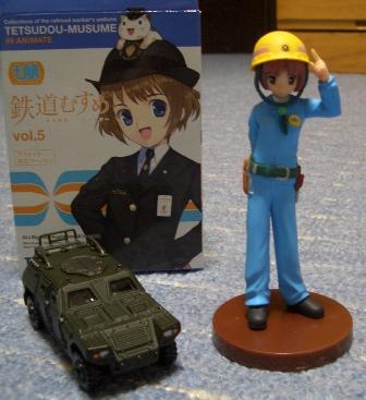 金沢あるみと軽装甲機動車