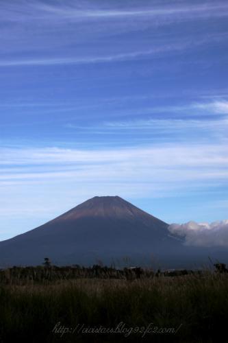 初秋の富士山01