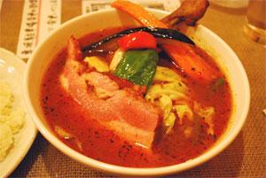 札幌スープカレー メディスンマン チキン