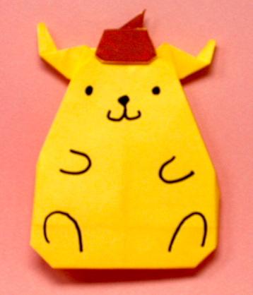 クリスマス 折り紙 折り紙キャラクターの折り方 : matome.naver.jp
