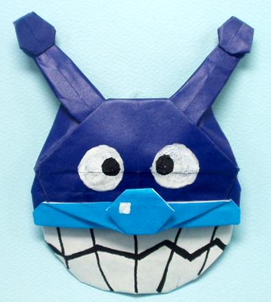 簡単 折り紙 : 折り紙折り方キャラクターアンパンマン : vongi.blog72.fc2.com