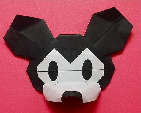 ハート 折り紙 : 折り紙でキャラクター : matome.naver.jp