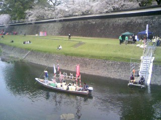 090329熊本城下の坪井川