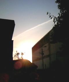 090502の夕日