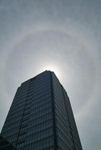 堺市役所高層館上空の内暈