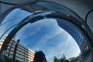 半球ミラーの天頂環