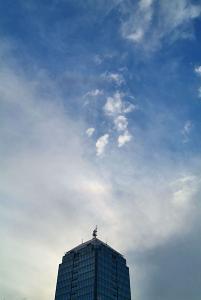天頂環と上部タンジェントアーク