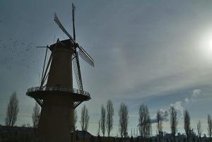 風車と左幻日