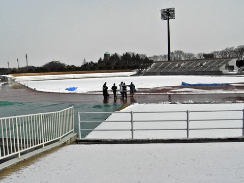 3度目の積雪