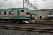 湘南新宿ライン通過