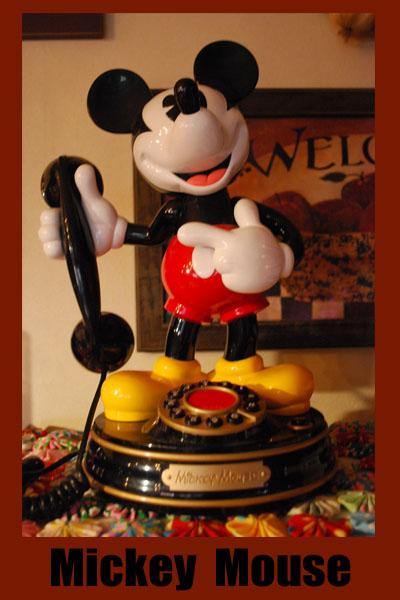 ミッキー電話