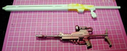製作中ライフル