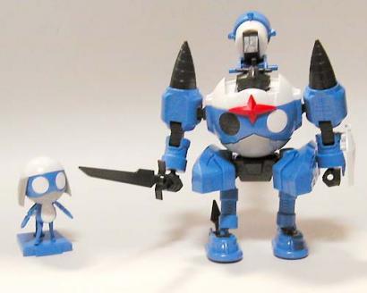ドロロロボMk-II 仮組み