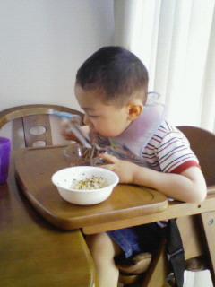 よく食べる!