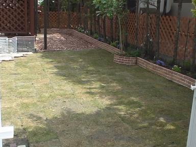 庭~芝張り~