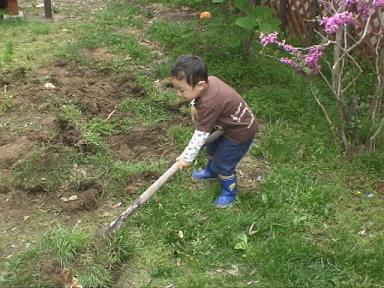 庭~掘り返し~
