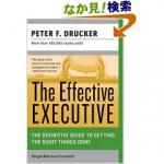 Peter Ferdinand Drucker,  The Effective Executive