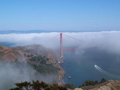 金門橋with海霧