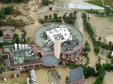 2009年梅雨山口洪水