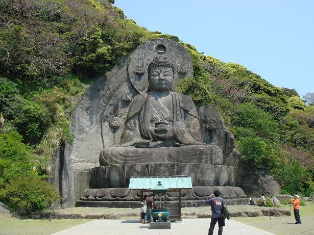 大仏(鋸山)
