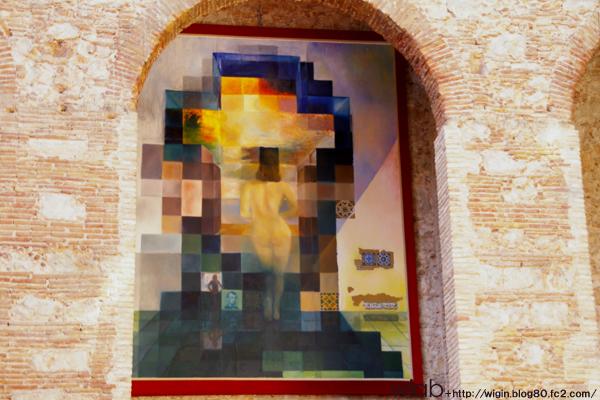 リンカーンのダマシ絵☆ ガラの後姿がみえますか?