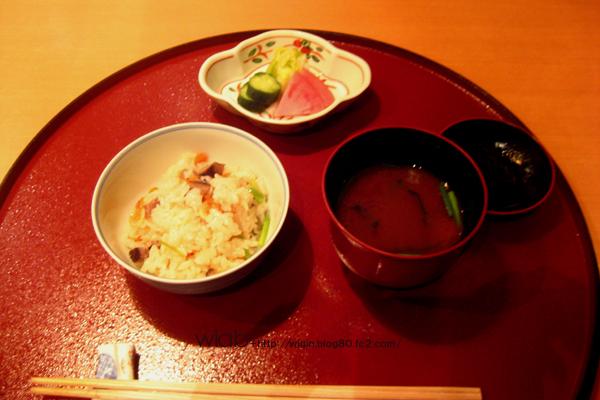 桜海老のご飯と味噌汁☆