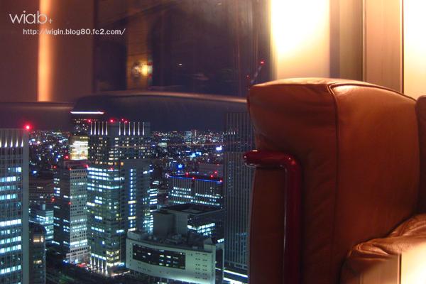 夜景がキレー 東京駅が一望できました