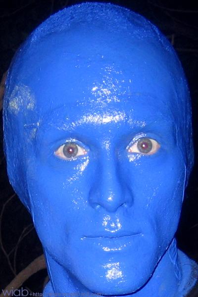 ブルーなイケメン