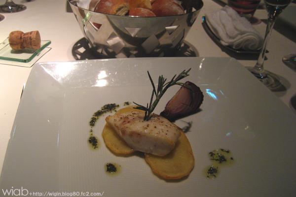 魚料理で~す。