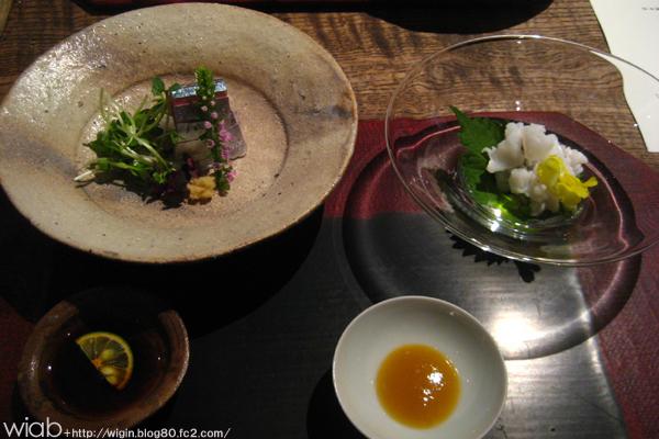 鱧と秋刀魚。 美味い!!