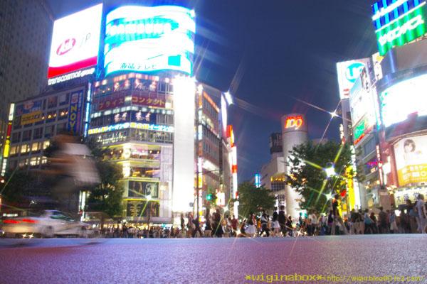 渋谷を中間目線で。。