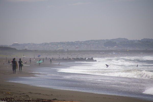 広い砂浜♪