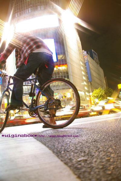 いつか渋谷を自転車で走ろう♪