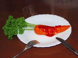 carrot steak