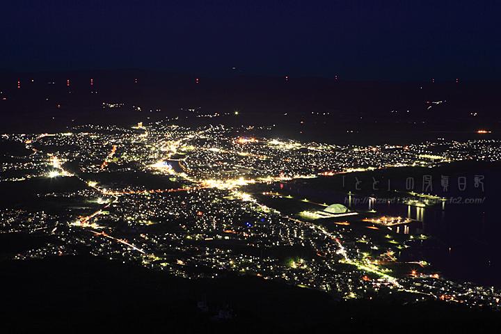 釜臥山夜景