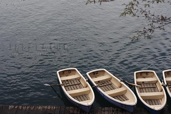 五色沼ボート