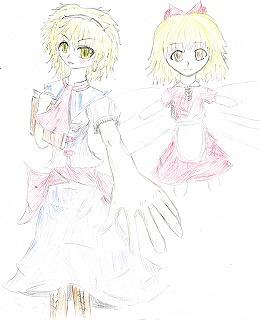 x,アリス