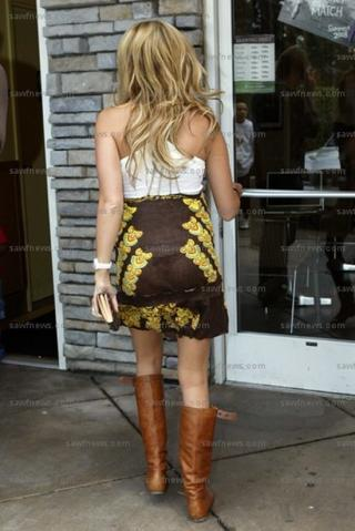 Ashley Tisdale See-thur Dress2
