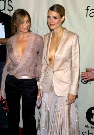 グウィネス・パルトローとステラ・マッカートニーの大胆ファッション