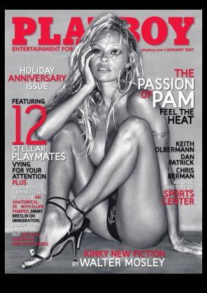パメラ・アンダーソン「Playboy January 2007」