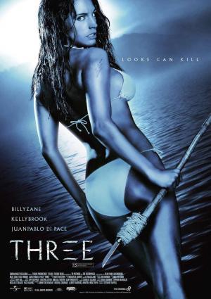 原題THREEのポスター「サバイバル・アイランド」