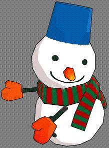 カタログ10号抱っこ雪だるま
