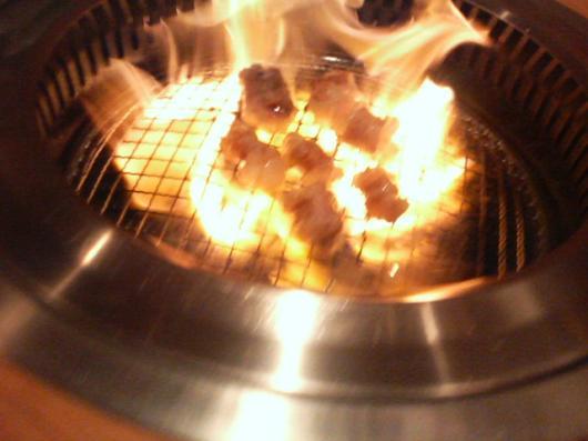 燃える丸腸