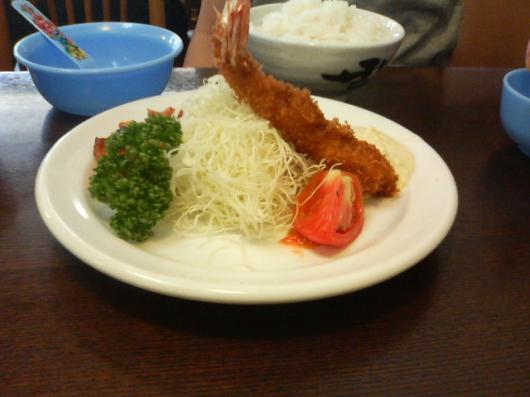 洋食の朝日(サービスランチ)