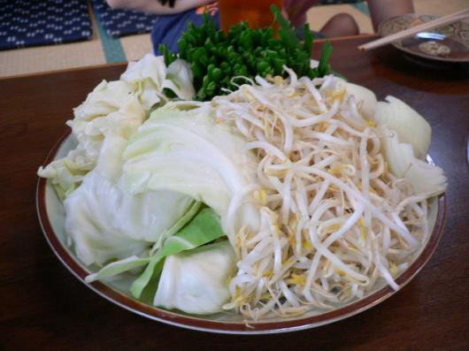 しぶ珍(モツ鍋野菜)