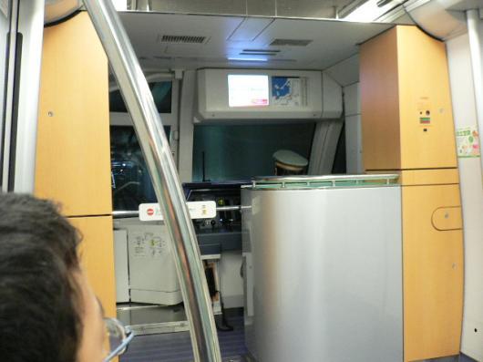 地下鉄運転席