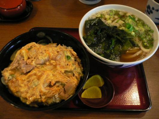 讃松庵(親子丼)
