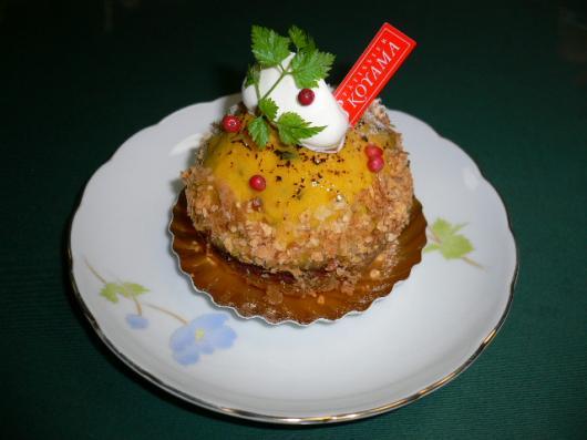エスコヤマ(かぼちゃのケーキ)